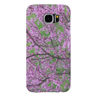 Pink Floral Tree Budding Samsung Galaxy S6 Cases