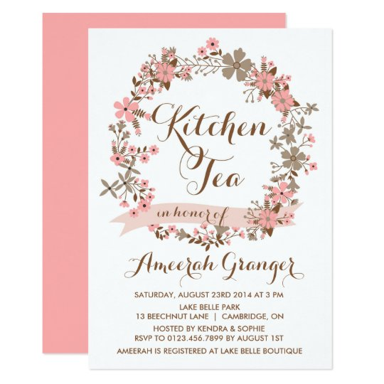 Tea Party Invitation Template New Free Birthday Invitation Templates