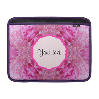 Pink Florals Sleeve For MacBook Air