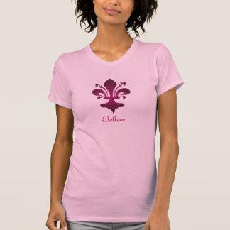 Pink Florence Fleur de Lis Tees