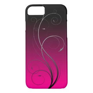 Pink Flourished Custom Phone Case