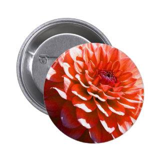 Pink Flower 6 Cm Round Badge