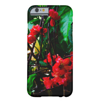 Pink flower barely there iPhone 6 case