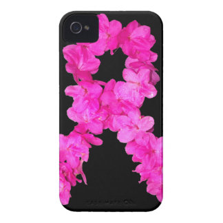 Pink Flower Breast Cancer Awareness Ribbon Blackberry Bold Cases