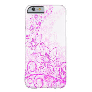 Pink Flower Case Barely There iPhone 6 Case