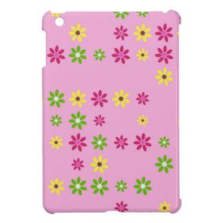 Pink Flower Confetti iPad Mini Cases