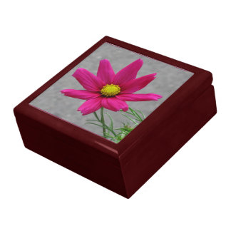 Pink Flower (Cosmos) gift / jewelry box