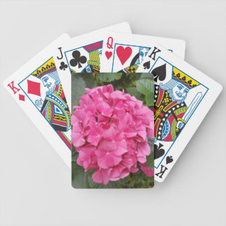 Pink Flower Floral Photography Nature Bicycle Playing Cards