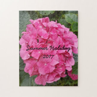 Pink Flower Floral Photography Nature Jigsaw Puzzle