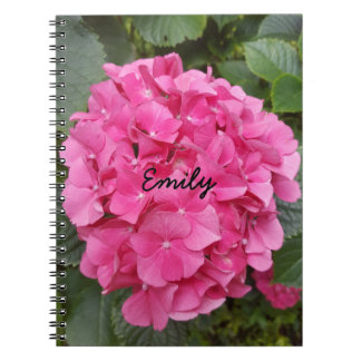 Pink Flower Floral Photography Nature Notebook