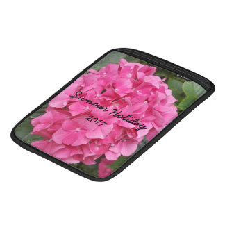 Pink Flower Floral Photography Nature Sleeve For iPads