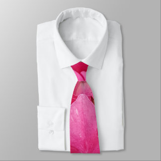 Pink Flower Floral Photography Nature Tie