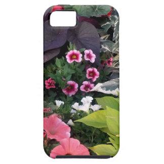Pink Flower Garden iPhone 5 Cases