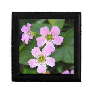 pink-flower gift box