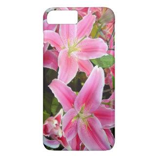 Pink Flower iPhone 7 Plus Case