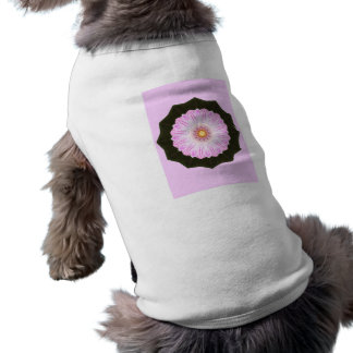 Pink Flower Kaleidoscope Abstract Art Graphic Pet Clothes