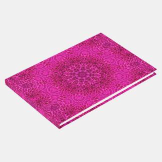 Pink Flower Kaleidoscope  Guestbook