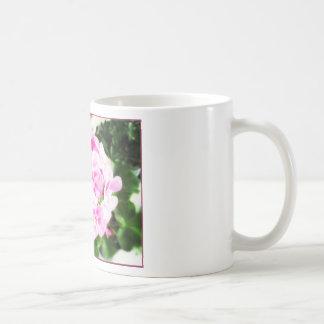 Pink Flower & Kindness Proverb Mugs