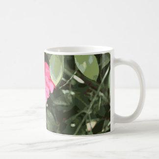 Pink Flower Motif III Coffee Mugs