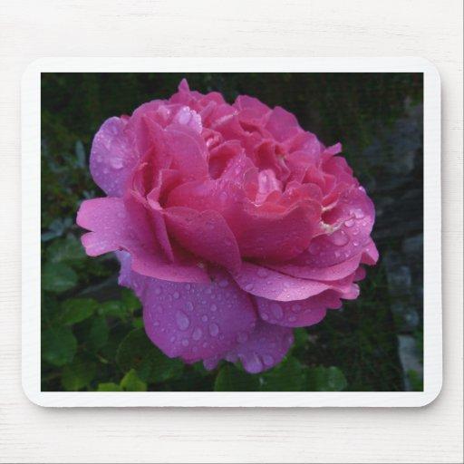 Pink Flower Mousepads