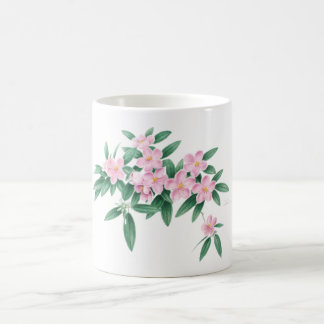 Pink flower mug by Ho Mang Hang