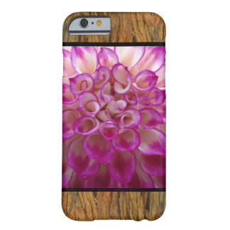 Pink Flower on Bark Barely There iPhone 6 Case