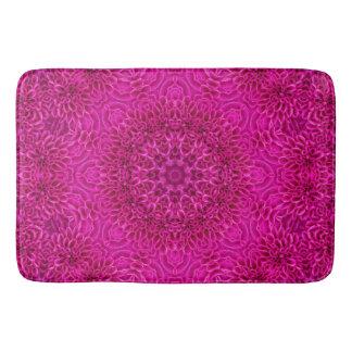 Pink Flower Pattern  Bath Mats, 3 sizes Bath Mat