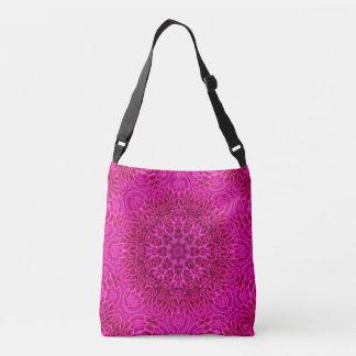 Pink Flower Pattern Custom All-Over-Print Bag
