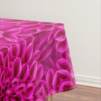 Pink Flower Pattern Custom   Tablecloth, 3 sizes Tablecloth