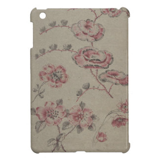 Pink Flower Pattern - French iPad Mini Case