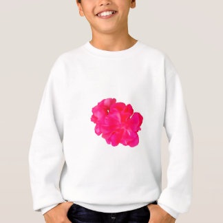 Pink Flower Pattern Sweatshirt