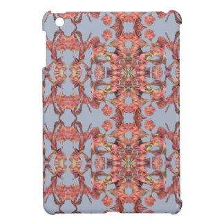 pink flower petal pattern i-pad mini case iPad mini cover