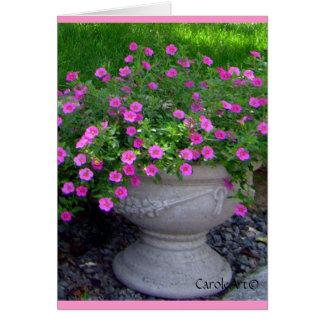 Pink Flower Planter Notes