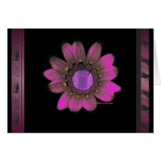 Pink Flower Power Card