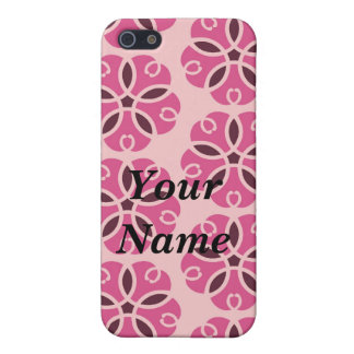 PINK FLOWER POWER GIRL FRIENZ IPOD PHONE CASE COVER FOR iPhone 5/5S