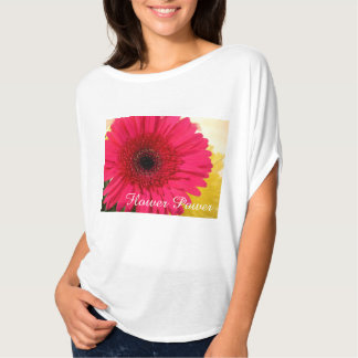 pink flower power T-Shirt