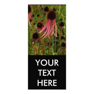 Pink Flower Rack Card