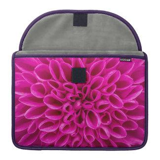 Pink Flower Sleeve For MacBooks
