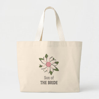 Pink Flower Son of the Bride Tote Bag