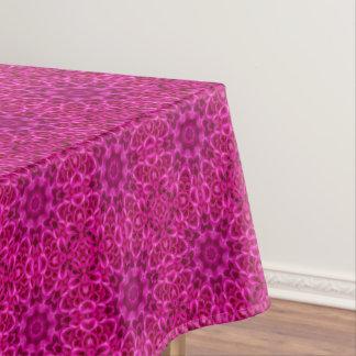 Pink Flower Vintage Kaleidoscope   Tablecloth