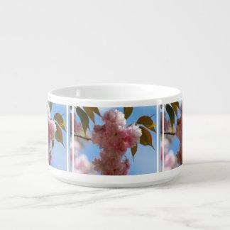 Pink Flowering Cherry Tree Chili Bowl