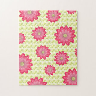 Pink Flowers 10x14 Puzzle