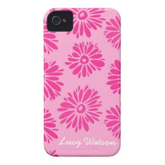 Pink Flowers BlackBerry Bold Case
