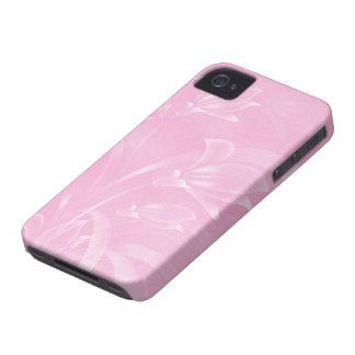 Pink Flowers Blackberry Case