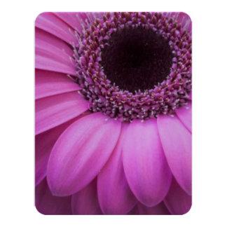 Pink Flowers Blossoms Petals Peace Love Destiny 11 Cm X 14 Cm Invitation Card