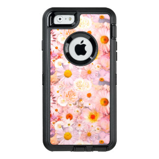 Pink Flowers Bouquet Floral Wedding Bridal Spring OtterBox Defender iPhone Case