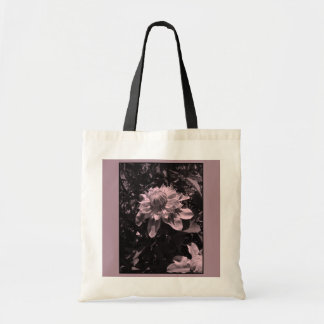 Pink flowers. Clematis. Stylish design. Tote Bag