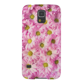 Pink Flowers Galaxy S5 Covers