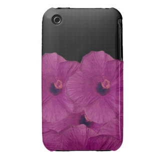 Pink Flowers iPhone 3 Case