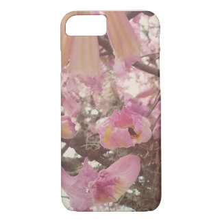 Pink Flowers iPhone 7 Case
